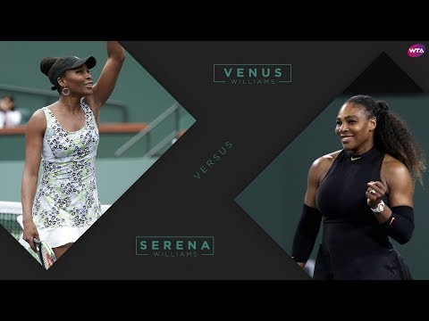 2018 Indian Wells Third Round | Venus Williams vs. Serena Williams | WTA Highlights