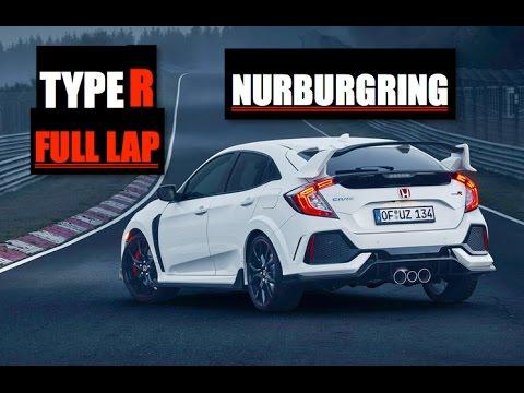 2018 Honda Civic Type R Nurburgring Full Lap - Inside Lane