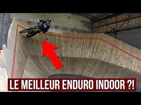LE MEILLEUR PARCOURS VTT ENDURO INDOOR ?! (видео)