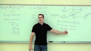 Intermediate Algebra Lecture 7.5