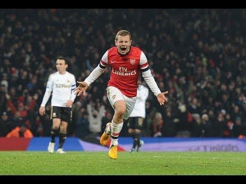 jack wilshere goal pazzesco ( arsenal 1-0 norwich del 19/10/2013 )