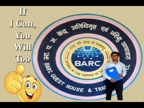 How I Cracked BARC Interview