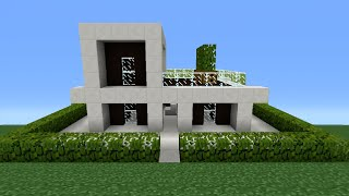 Minecraft Tutorial: How To Make A Miniature House - 2