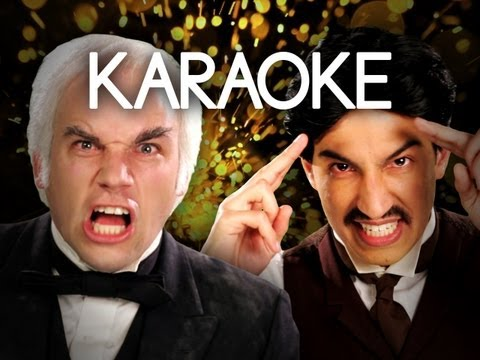 [KARAOKE ♫] Nikola Tesla vs Thomas Edison. Epic Rap Battles of History. [INSTRUMENTAL]