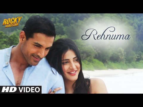 Video REHNUMA Video Song | ROCKY HANDSOME | John Abraham, Shruti Haasan | T-Series download in MP3, 3GP, MP4, WEBM, AVI, FLV January 2017