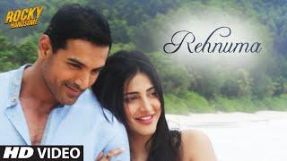 REHNUMA Song Video HD, Rocky Handsome John Abraham, Shruti Haasan