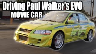 Nonton I got to Drive Paul Walker's EVO VII 2 Fast 2 Furious - Joyride Review Film Subtitle Indonesia Streaming Movie Download