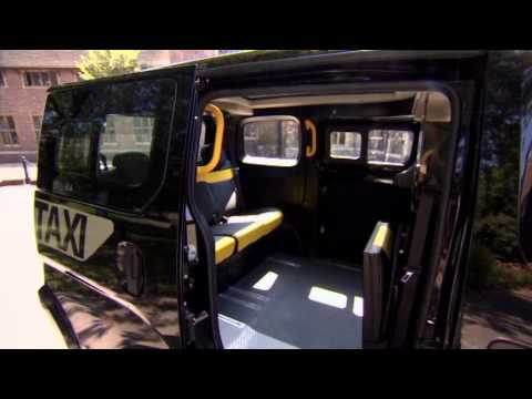 Nissan NV200   Meet The New London Taxi
