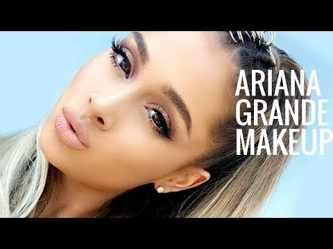 ARIANA GRANDE MAKEUP TUTORIAL | One Love Concert | CAT EYE LINER