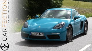 Porsche 718 Cayman S: The Almost Car - Carfection by Carfection