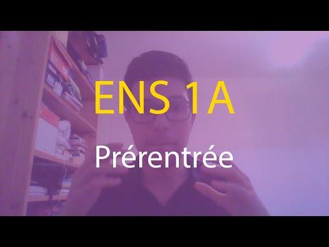 ENS Ulm 1A - Prérentrée, Optimal Sup Spé, colles - Mes études #3.1