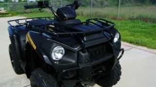 9. Review: 2013 Kawasaki Brute Force 300 in Super Black ATV