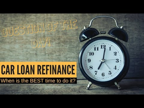 Car Loan Tips | How long do you NEED to wait before refinancing?