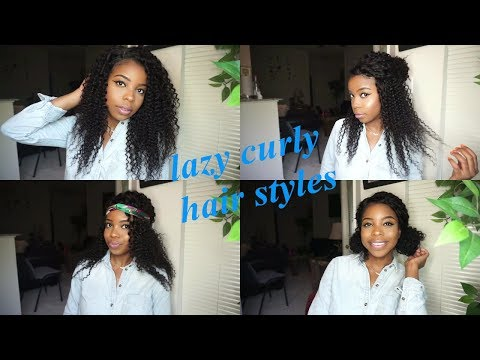 EASY CURLY HAIRSTYLES for LAZY DAYS Ft juliahait.com