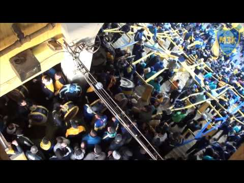 Video - Boca Rafaela 2014 / Entra La 12 - La 12 - Boca Juniors - Argentina