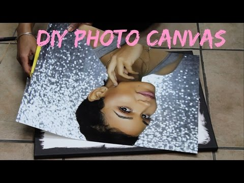 EASY DIY PHOTO CANVAS | TURN YOUR PICTURES INTO WALL ART!
