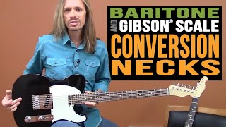 Video Warmoth Baritone-Scale and Gibson®-Scale Conversion Necks MP3, 3GP, MP4, WEBM, AVI, FLV Juni 2018