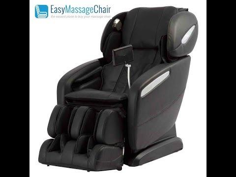 Osaki OS-Pro Maxim Zero Gravity S-Track Foot Roller Heat Therapy Massage Chair Black