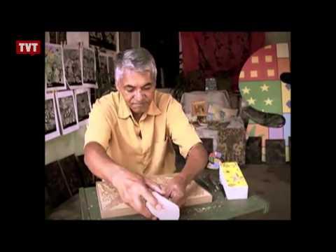 Mestre da xilogravura mostra sua arte para crianças de Diadema, no ABC