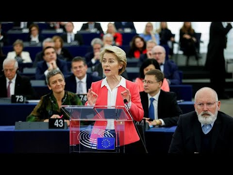 Η Ούρσουλα φον ντερ Λάιεν στο euronews