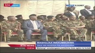 President Sheikh Mohamoud's Full Speech In Eldoret In Honor Of Kenyan Soldiers Killed In Somalia