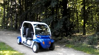 5. 4-person electric golf cart