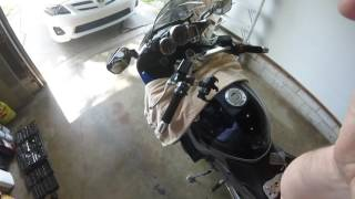 6. MV Motorrad Riser Installation on a 2006 Yamaha FJR1300A