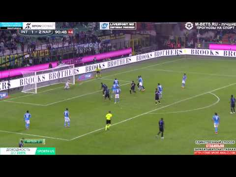 Hernanes goal - Inter - Napoli 2-2 HD 720p Forza Inter!!!