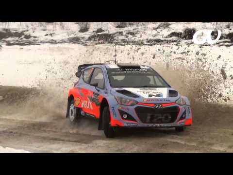 WRC Rally Sweden - Day 1 2015 (HD)