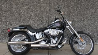 9. 2007 Harley-Davidson Softail Custom For Sale
