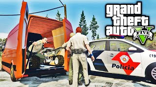 GTA Policia - Carro Roubado - GTA 5 Policia - Police MOD - GTA SA ► Mais Vídeos da Série: https://goo.gl/8JR9dZ (Episódio 05) ► Minhas Fotos - https://www.in...