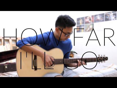 How Far I'll Go (From Moana) - Auli'i Cravalho - Fingerstyle Guitar