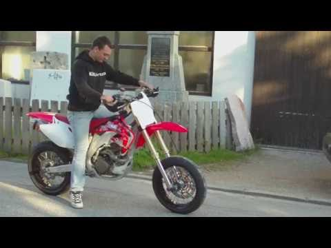 58hp HONDA CRF 450 Akrapovic Supermoto