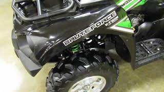 9. Romney Cycles 2017 Kawasaki Brute Force 750 4x4i EPS For Sale