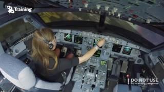 Video Inexperienced girl trying to land A320 MP3, 3GP, MP4, WEBM, AVI, FLV Juni 2018