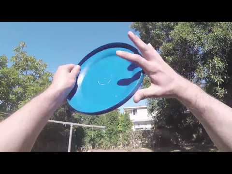 Retrieving a frisbee - Buttered Side Down