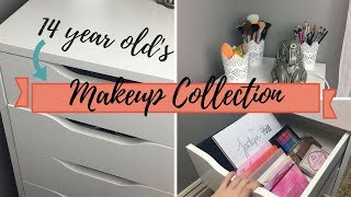 Video MAKEUP COLLECTION OF A 14 YEAR OLD | 2018 MP3, 3GP, MP4, WEBM, AVI, FLV Juli 2018