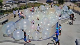 WUBBLE BUBBLES FILL SKATEPARK!