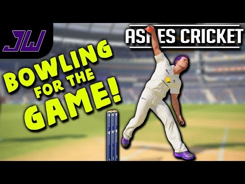 BOWLING FOR THE GAME!  - Ashes Cricket Career | Ashes Cricket Gameplay | Episode 30