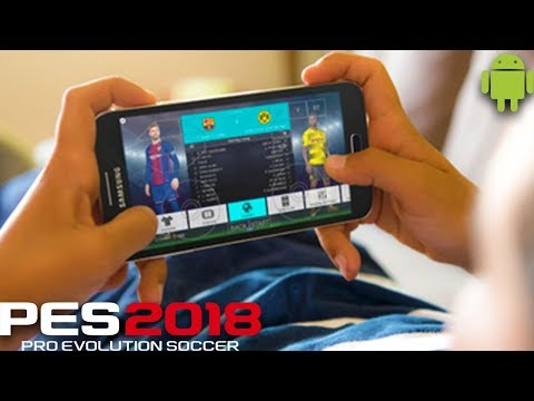 Playing PES 2018 On Android!