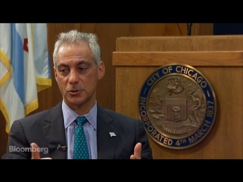 chicago - Aug. 27 (Bloomberg) -- Chicago Mayor Rahm Emanuel explains how immigration reform will help the city. He discusses workforce issues with Bloomberg's Sam Grobart. (Source: Bloomberg)