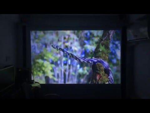 Máy chiếu giá rẻ Tyco T7 chuẩn HD độ sáng 3000 Lumens