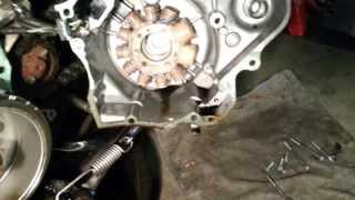 2. 2004 Honda CMX250 Rebel Crank Seal Oil Leak