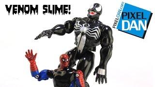 Venom Toy Biz Marvel Superheroes Living Skin Slime Figure Video Review
