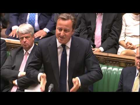 cameron - David Camerona and Ed Miliband debate the UK intervening, including with the military, in Syria.