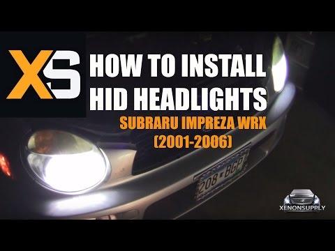 How to Install Bi-Xenon HID: Subaru Impreza WRX 2001-06
