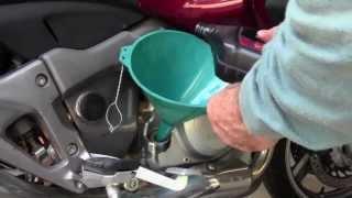 4. Honda NT700V Oil Change