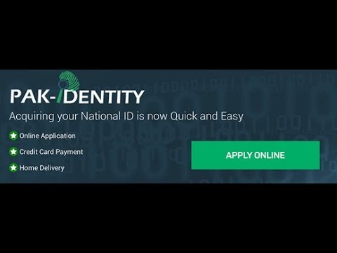 How To Make NICOP NADRA Online