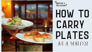 Video Restaurant service- how to carry plates as a waiter! How to carry a tray, serve food in a restaurant MP3, 3GP, MP4, WEBM, AVI, FLV Agustus 2019