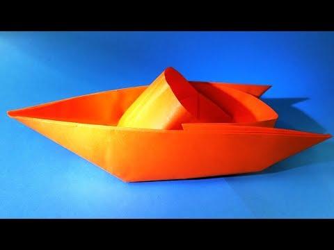 лодка оригами своими руками